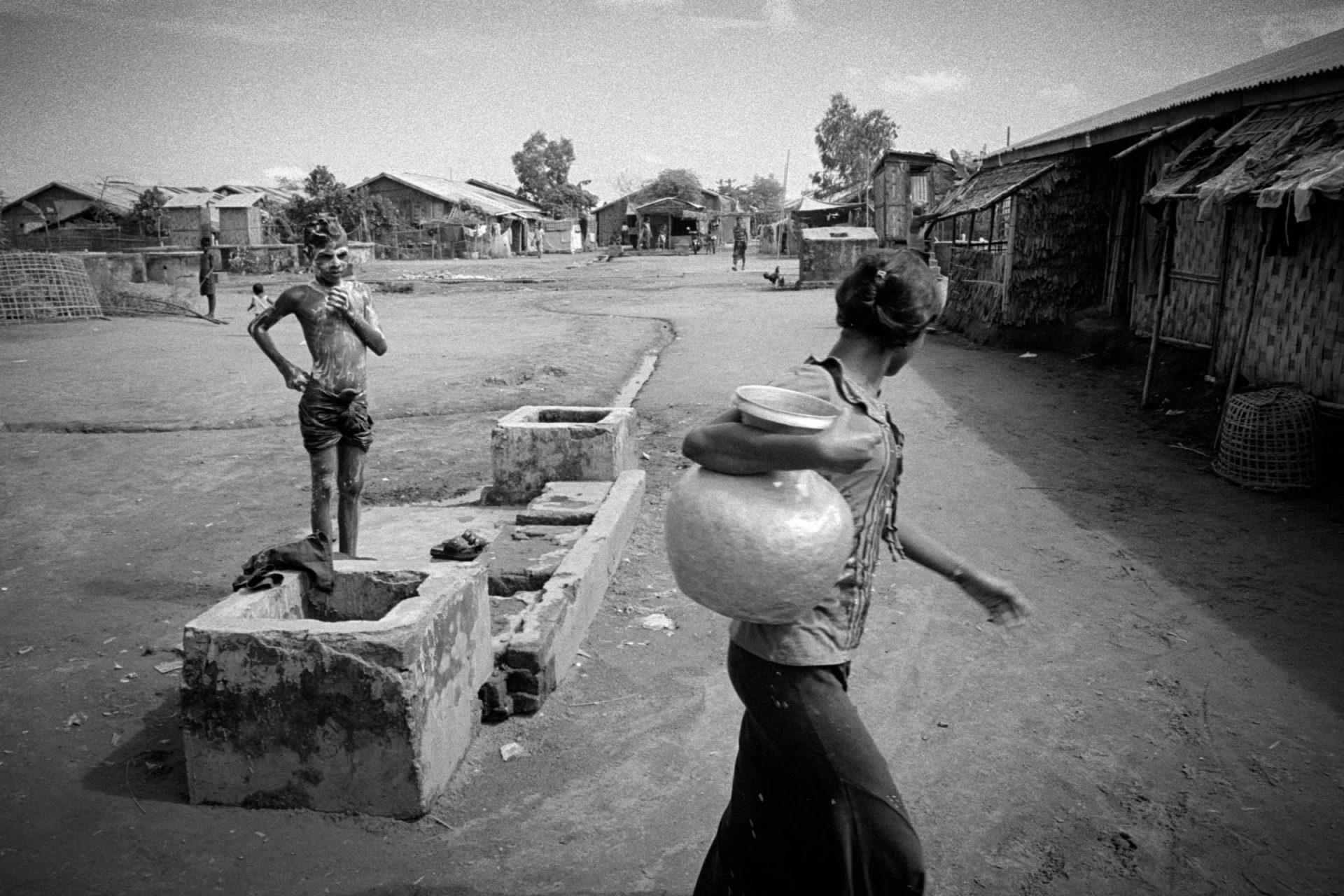 Baw Du Pha Rohingya IDP camp.